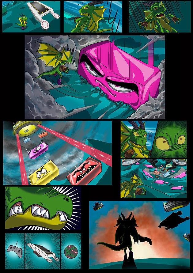 Drakonoid comic